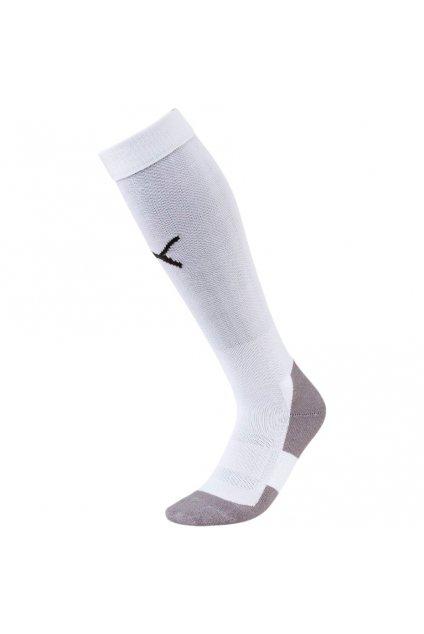 Futbalové ponožky Puma Liga Core Socks biele 703441 04
