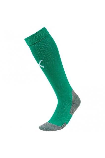 Futbalové ponožky Puma Liga Core Socks zelené 703441 05