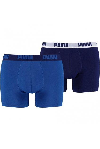 Boxerky pánske Puma Basic Boxer 2P modré 521015001 420