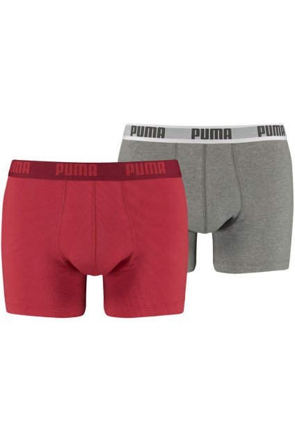 Boxerky pánske Puma Basic Boxer 2P  521015001 072