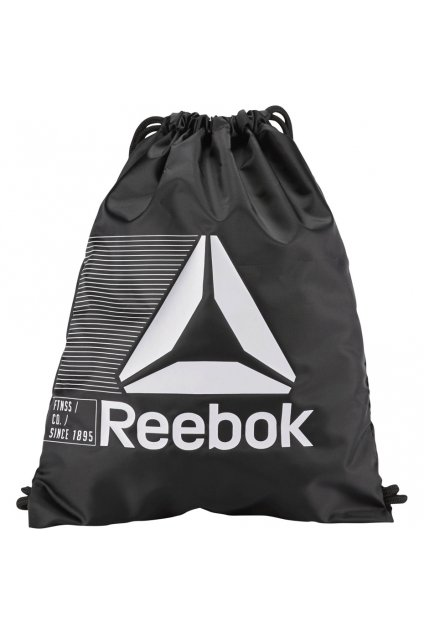 Športový vak Reebok Act Fon Gymsack čierny CE0944