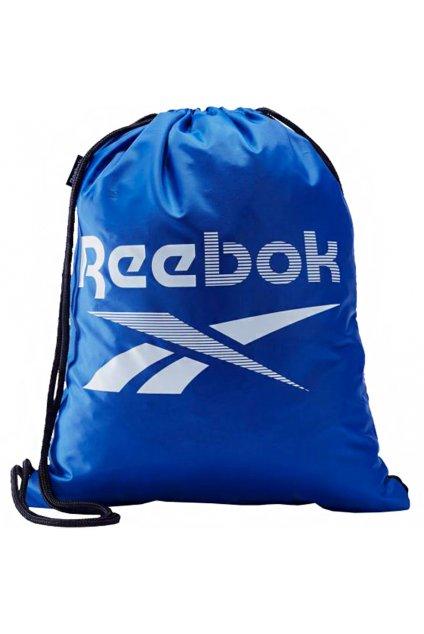 Športový vak Reebok Training Essentials Gymsack modrý FQ5516