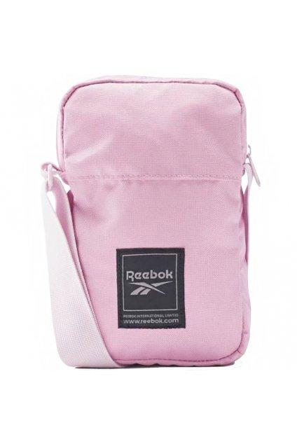 Taška na rameno Reebok Workout City Bag ružová FQ5290