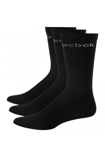 Ponožky Reebok Active Core Crew Sock 3 páry čierne FL5229