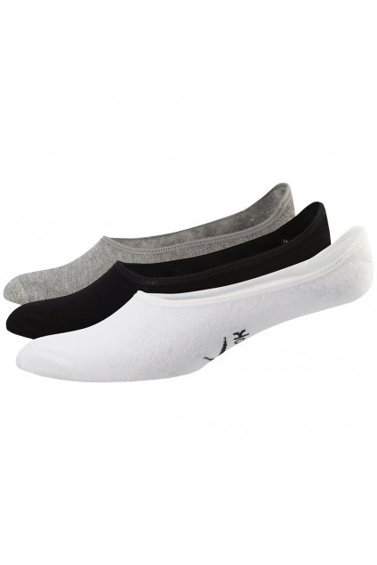 Dámske ponožky Reebok TE Invisivle Sock 3 mix farieb FQ5314