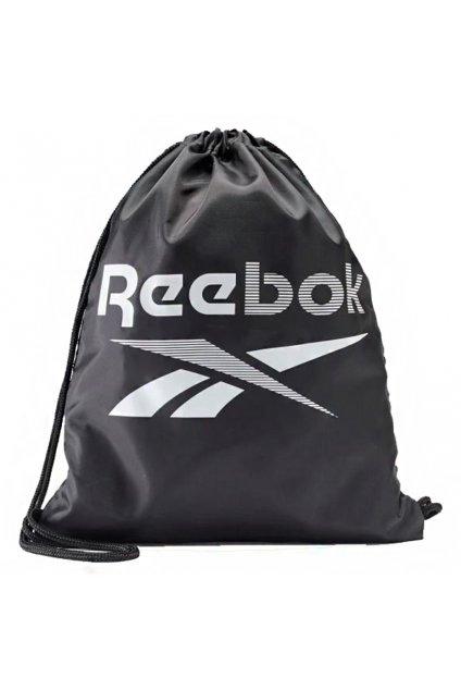 Športový vak Reebok Training Essentials Gymsack čierny FQ5515