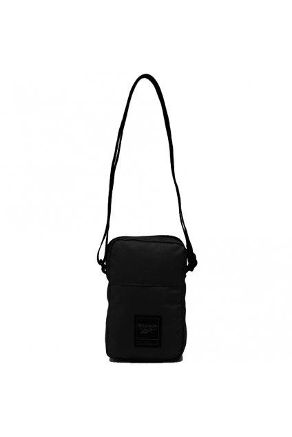Taška na rameno Reebok Workout City Bag čierna FQ5288
