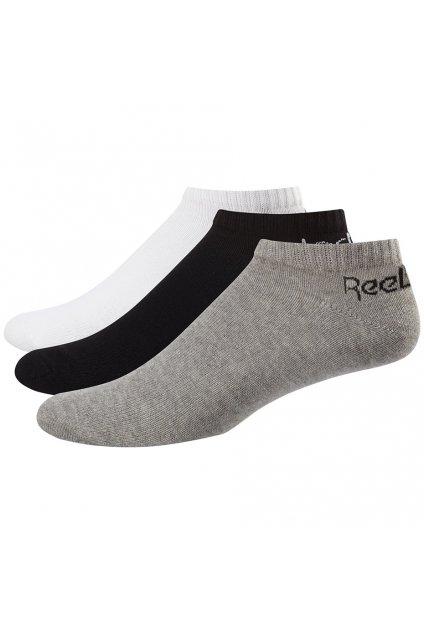 Ponožky Reebok Active Core Low Cut Sock 3páry biele šedé čierne FL5225