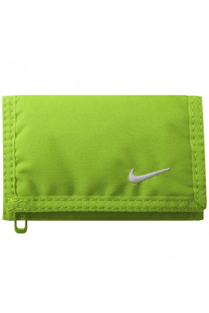 Peňaženka Nike Basic zelená NIA08385