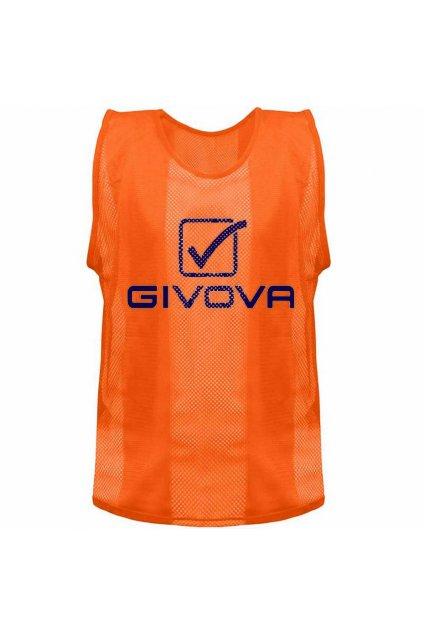Rozlišovacia vesta Givova Pro CT01 oranžová