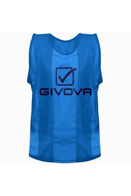 Rozlišovacia vesta Givova Pro CT01 modrá