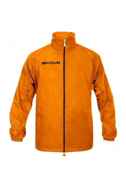 Bunda Givova Rain Basico Fluo oranžová RJ001 0028