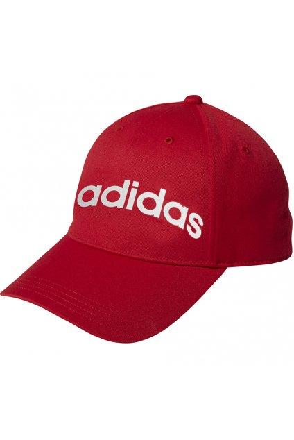Juniorská šiltovka Adidas Daily Cap OSFY červená EC4703