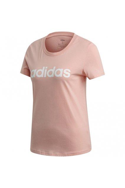 Dámske tričko Adidas W Essentials Slim T ružové FM6423