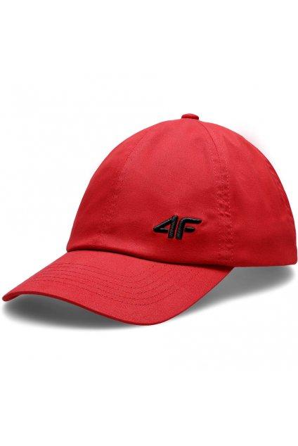 Pánska šiltovka 4F červená H4L20 CAM008 62S