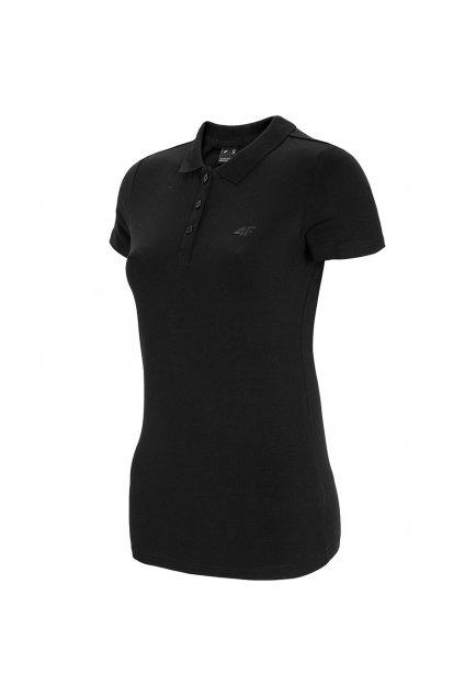 Dámske tričko 4F čierne NOSH4 TSD008 20S