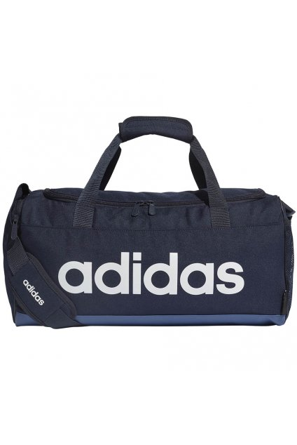 Taška Adidas Linear Duffle S modrá FM6745