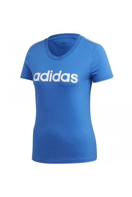 Dámske tričko Adidas W Essentials Slim T modré FM6425