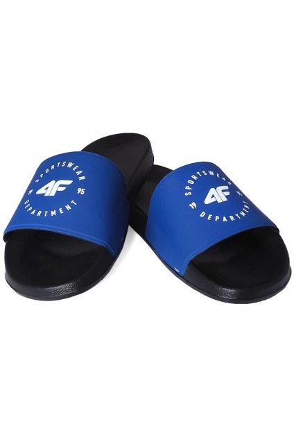 Pánske šľapky 4F modré H4L20 KLM002 33S