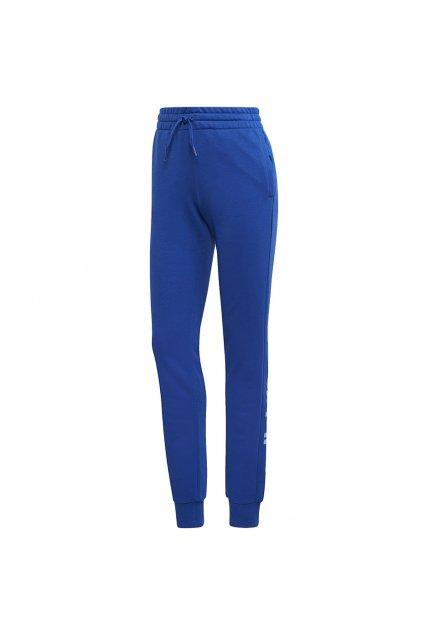 Dámske tepláky Adidas Essentials Linear Pant modré GD3025