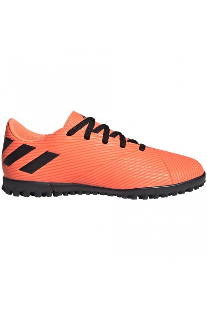 Futbalové kopačky Adidas Nemeziz 19.4 TF JR oranžové EH0503