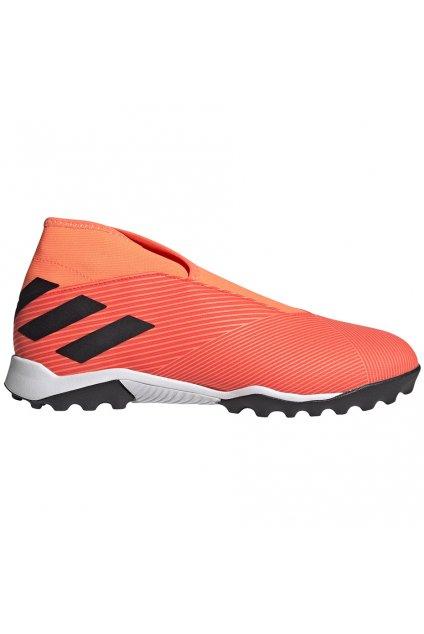 Futbalové kopačky Adidas Nemeziz 19.3 LL TF oranžové EH0277