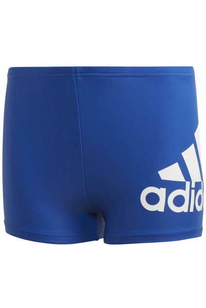 Chlapčenské plavky adidas Ya Bos Boxer modré GE2029