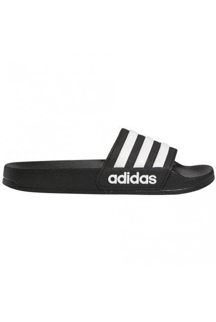 Detské šľapky adidas Adilette Shower K čierne G27625