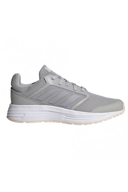 Dámska bežecká obuv Adidas Galaxy 5 svetlošedá FW6122
