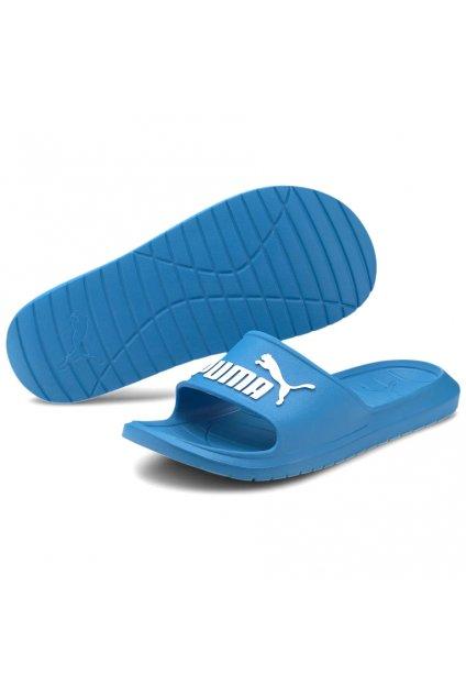 Šľapky Puma Divecat v2 modré 369400 15