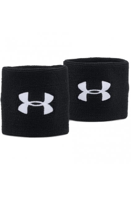 Potítka na ruku Under Armour Performance Wristbands čierne 1276991 001