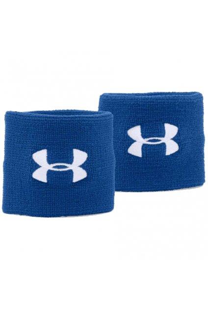 Potítka na ruku Under Armour Performance Wristbands modré 1276991 400