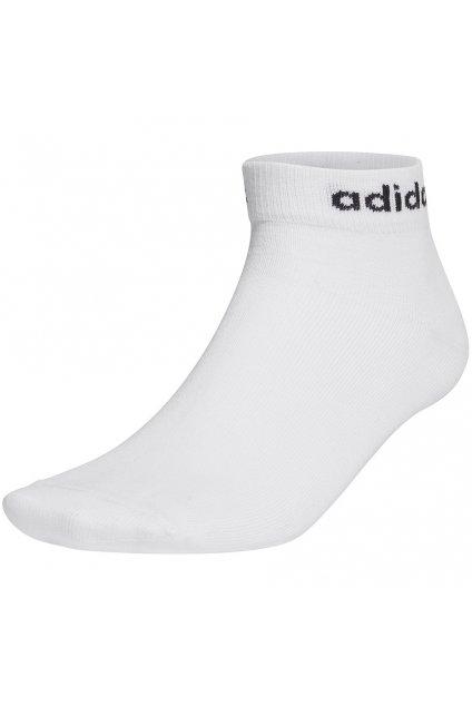 Ponožky Adidas Nc Ankle 3PP biele GE1380