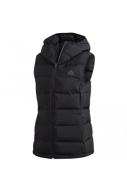 Dámska vesta Adidas Helionic Down Vest čierna BQ1943