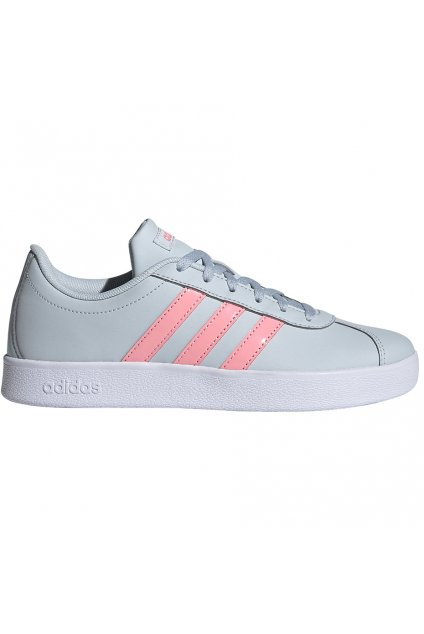 Detská obuv Adidas VL COURT 2.0 K modro ružová FY9151