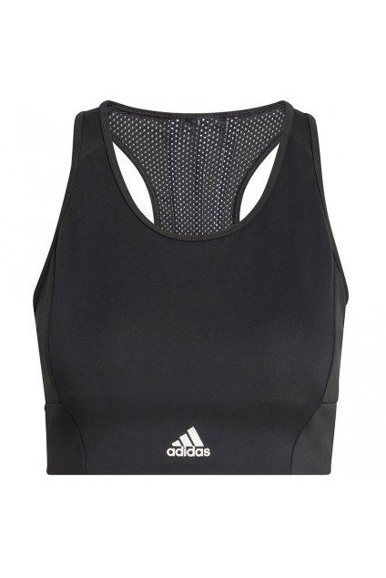 Dámska športová podprsenka adidas 3 Stripes Sport Bra Top čierna GL3806