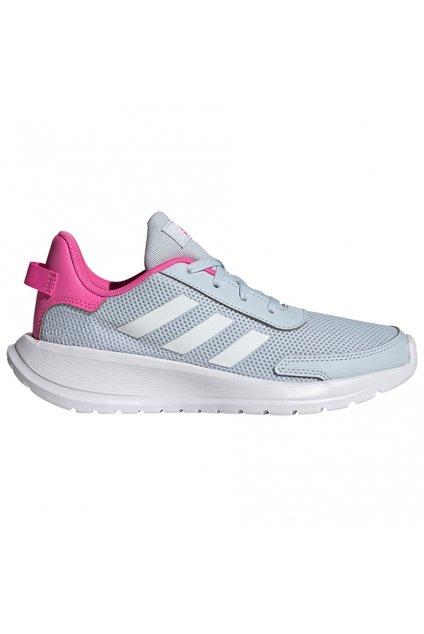 Detská obuv adidas Tensaur Run K šedo-ružové FY7288