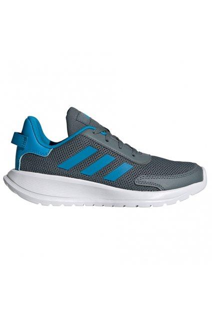 Detská obuv adidas Tensaur Run K šedo-modré FY7289