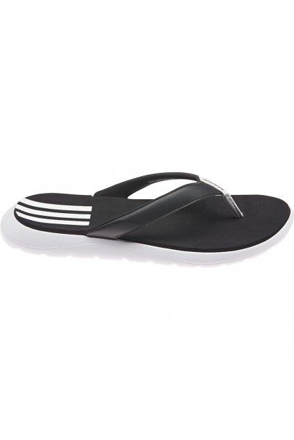 Dámske žabky Adidas Comfort Flip Flop čierno-biele FY8656