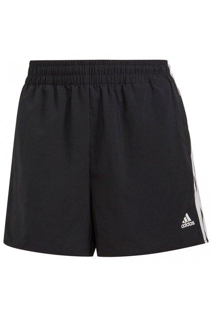 Dámske športové kraťasy Adidas Woven 3-Stripes čierne GL3981