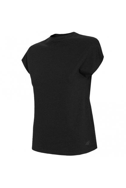 Dámske tričko 4F čierne H4L21 TSD038 20S