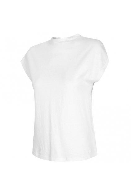 Dámske tričko 4F biele H4L21 TSD038 10S