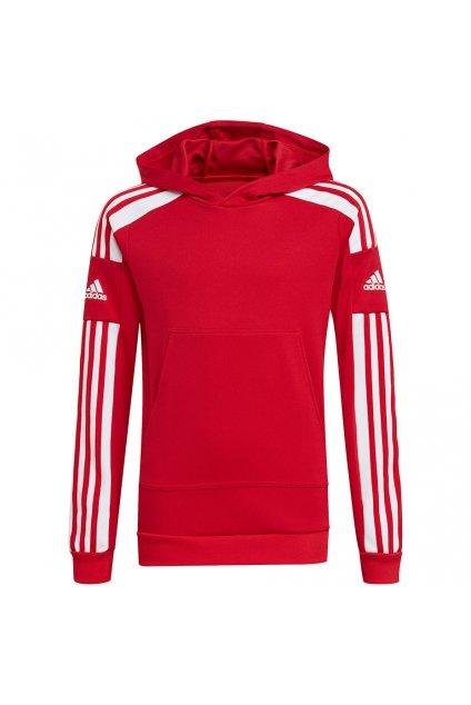 Detská mikina adidas Squadra 21 Hoody Youth červená GP6433