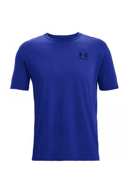 Pánske tričko Under Armour Sportstyle Lc Ss modré 1326799 402