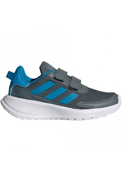 Detské topánky Adidas Tensaur Run C šedo modré FY9198