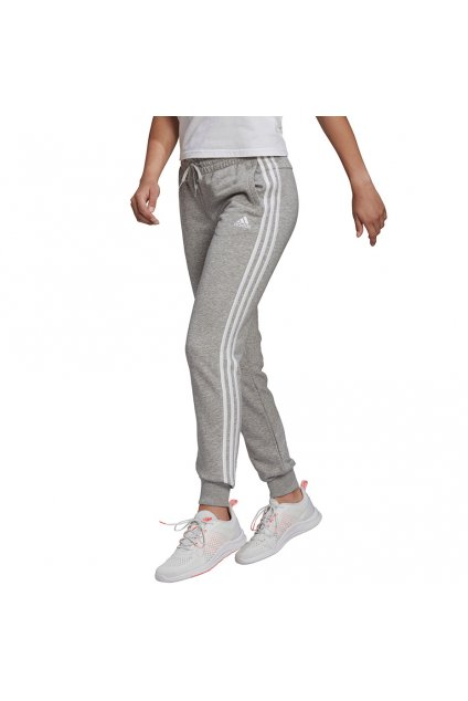 Adidas Essentials Slim Tapered Cuffed Pant Grey GM8735 d