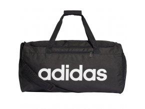 Taška Adidas Linear Core Duffel M čierna DT4819
