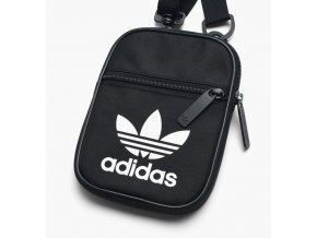 adidas originals trefoil festival bag dv2405 black white