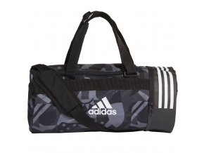 Adidas Convertible 3 Stripes Duffel Bag S Womens Graphic DT8654