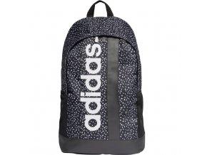 Batoh Adidas Linear BP W GR čiernobiely ED0299